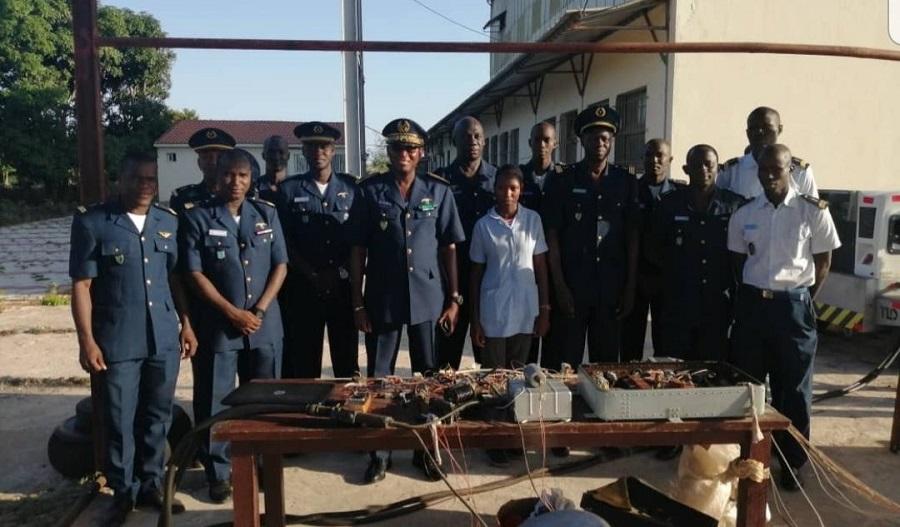 UGB: Une étudiante  réalise un banc de test moteur pour des hélicoptères de combat de l'armée de l'air