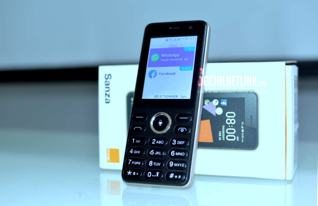 On a testé Orange Sanza, le smart « feature » phone sous KaiOS