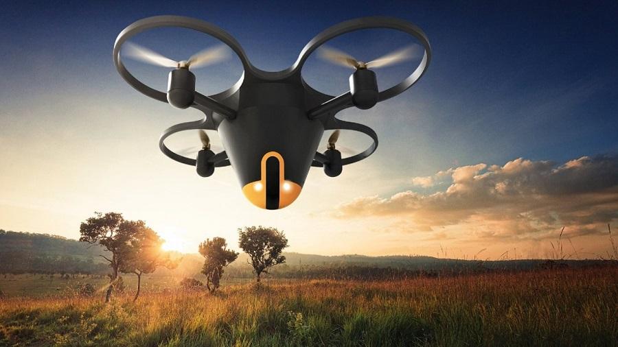 Le premier drone de sécurité résidentiel pour surveiller des maisons