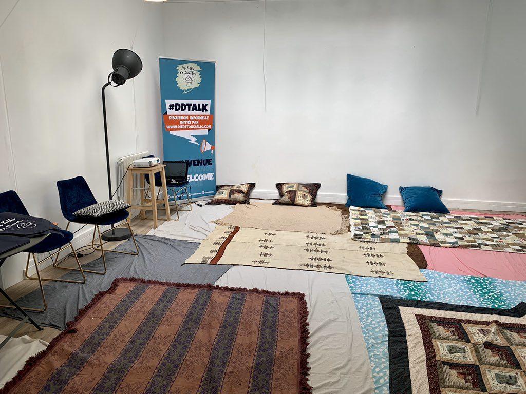 Blogueuse dans la peau:  les aventures «MeetUp» des «talks de Dieretou»