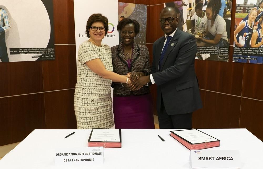 Promotion du numérique en Afrique : L'OIF et Smart Africa signent un accord de coopération