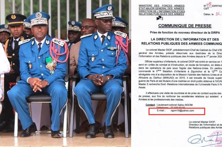 La police nationale, une faille dans les communications confidentielles du gouvernement