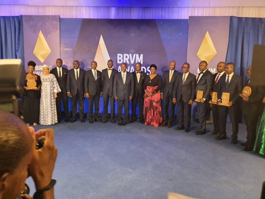 BRVM Awards : La Sonatel, meilleure entreprise cotée en bourse de la Zone UEMOA