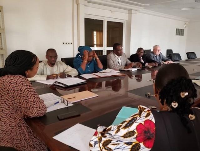 Une mission de la Banque Mondiale en visite à la CDP