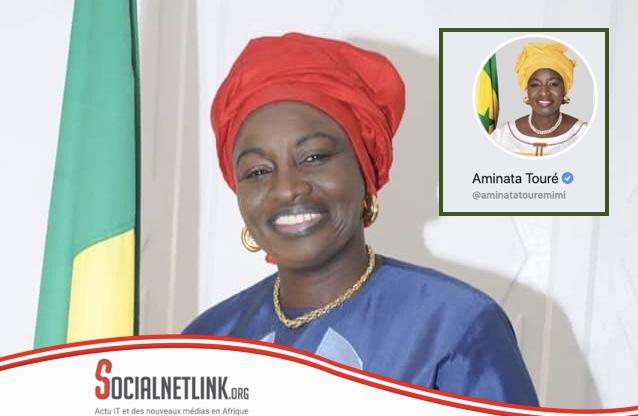 Aminata Touré rejoint le cercle restreint des personnalités certifiées sur Facebook