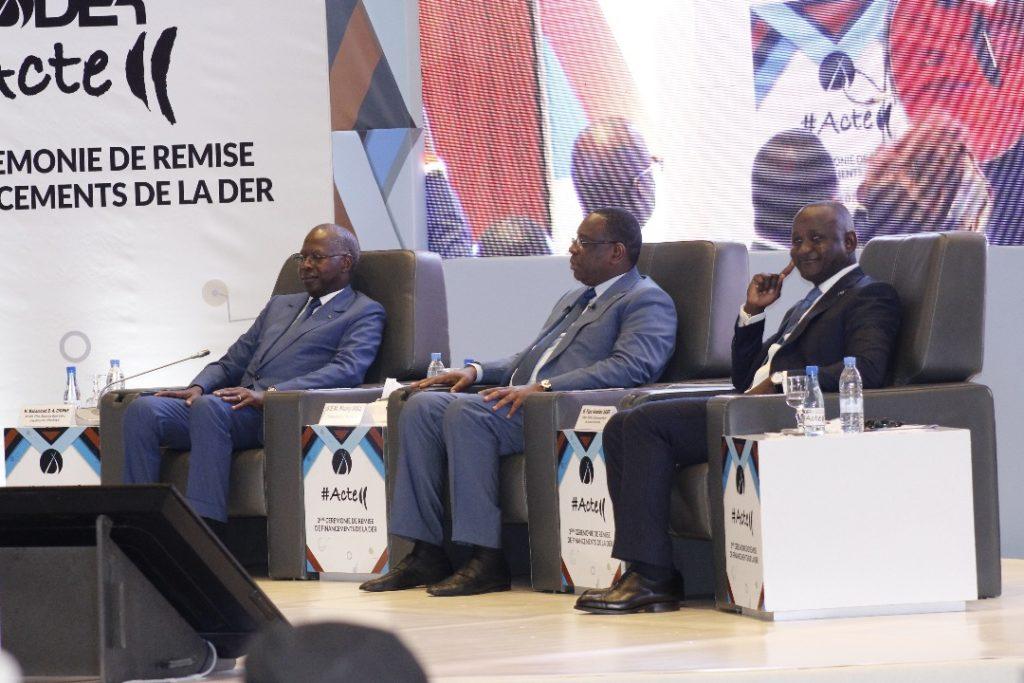 Conseil des Ministres : Macky Sall félicite la DER /FJ  pour son rôle dans la création d'emplois