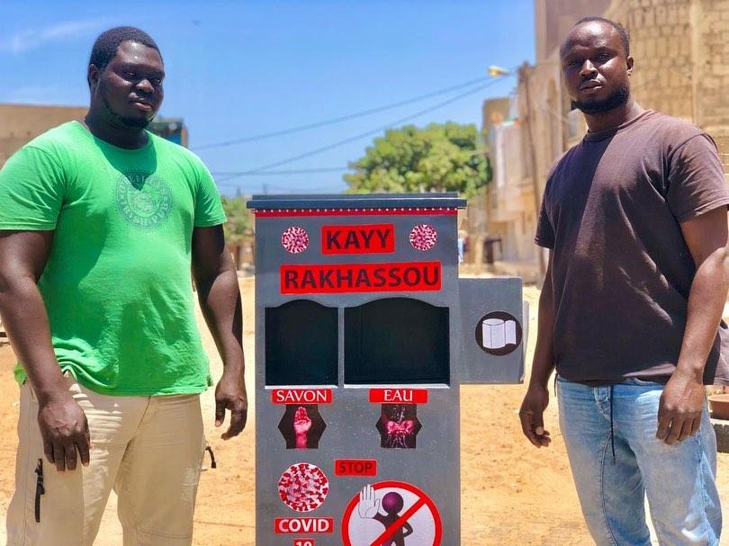 Kayy Rakhassou, la créativité au service de la prévention contre la pandémie Covid-19