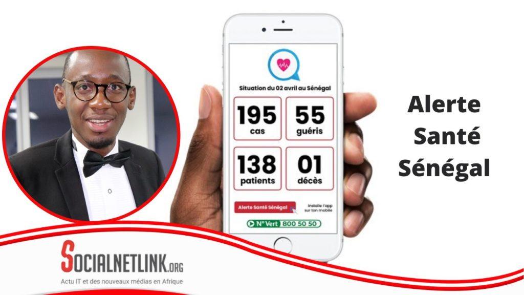 « Alerte Santé Sénégal »,  l'appli intelligente qui vous  informe sur la COVID-19