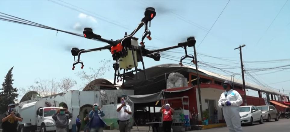 Des drones dans la lutte contre la covid-19