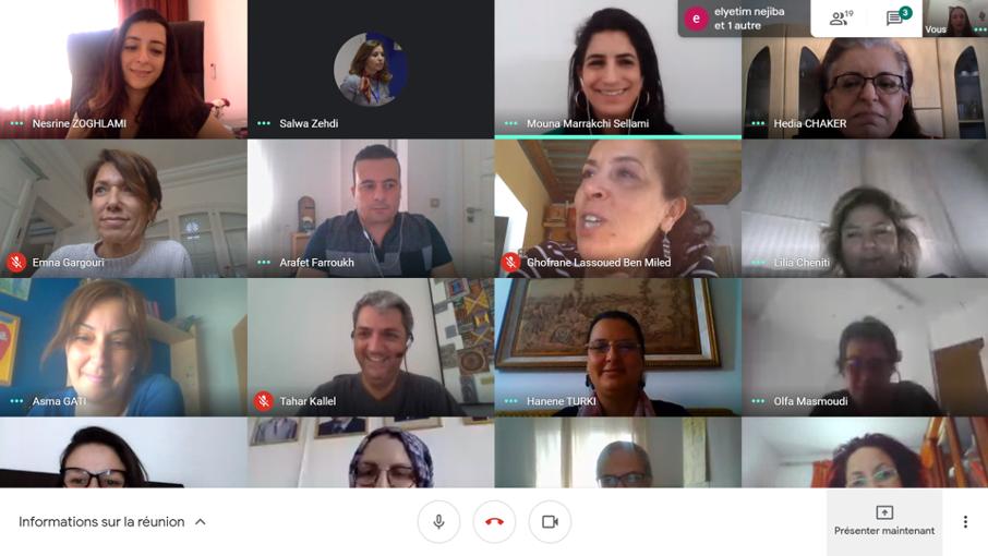 Tunisie: Des enseignants chercheurs de l'Université d'El Manar formés au tutorat en ligne