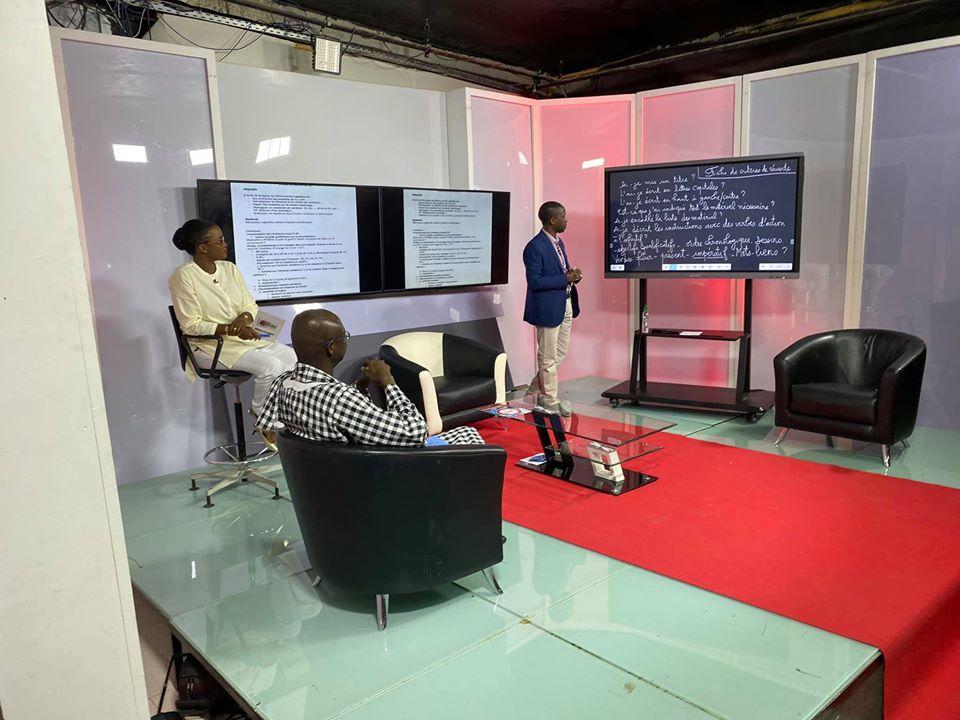 Covid 19 en Afrique et télé-enseignement