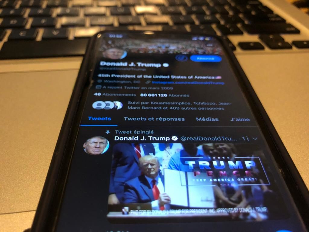 Affrontement entre Trump et Twitter