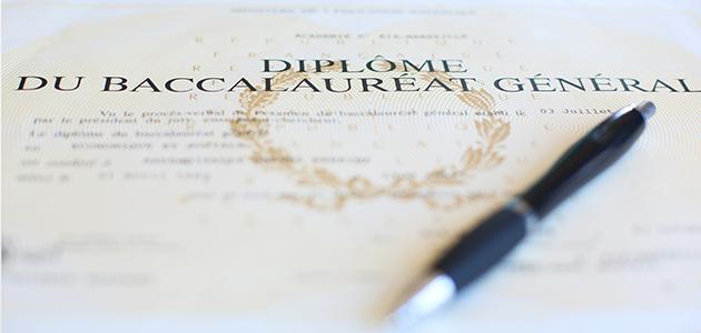 Demande d'établissement du diplôme BAC