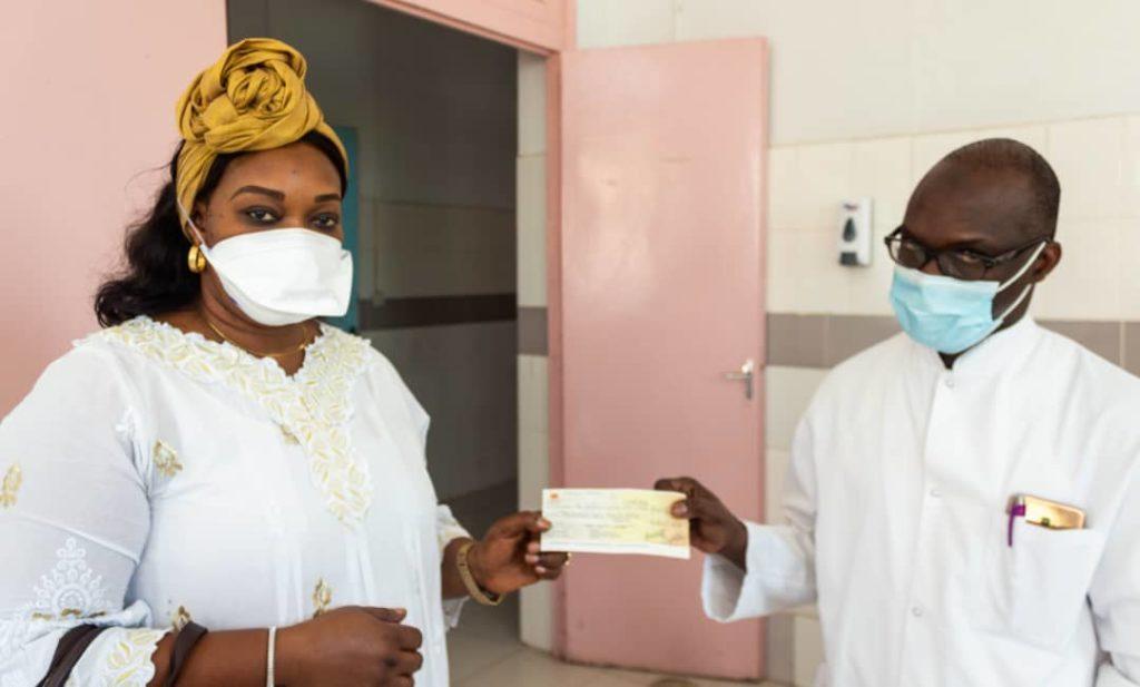 Covid-19:  l'association des femmes de l'ARTP au chevet de l'Hôpital Aristide Le Dantec