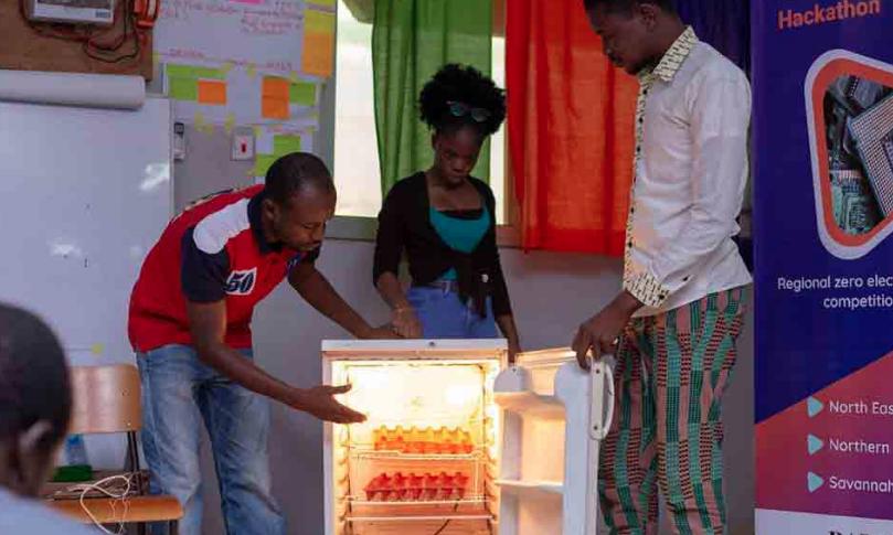 GHANA: Utiliser des déchets électroniques pour garder des oeufs