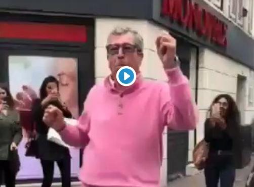Fête de la musique- La Vidéo de Patrick Balkany qui danse irritent des internautes