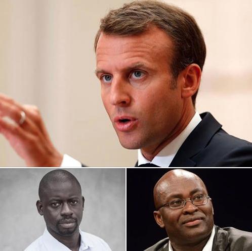 Emmanuel Macron lâche les intellectuels africains (anciennes colonies) !