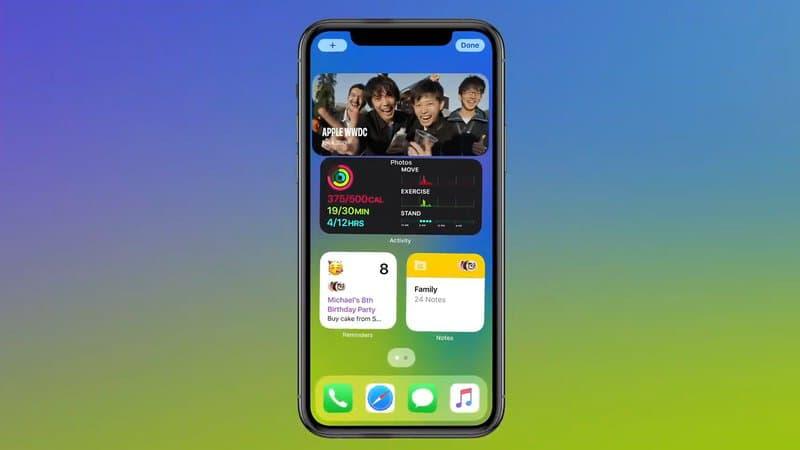 iOS 14: Apple dévoile la nouvelle version de son système d'exploitation