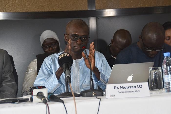 """Pr Moussa LO, UVS: """"les opérateurs et FAI  doivent rendre gratuit l'accès à internet..."""""""
