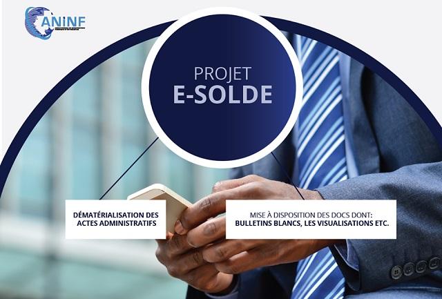 Gabon: l'ANINF lance la plateforme e- solde