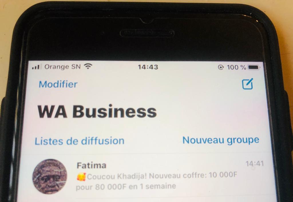 Les«tontines coffres» sur WhatsApp: De l'arnaque ?