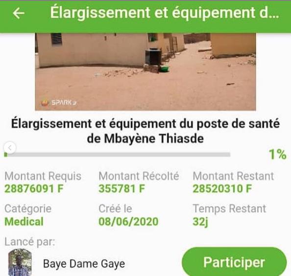 KATi360: Fisha Sénégal lance un challenge pour financer un poste de santé