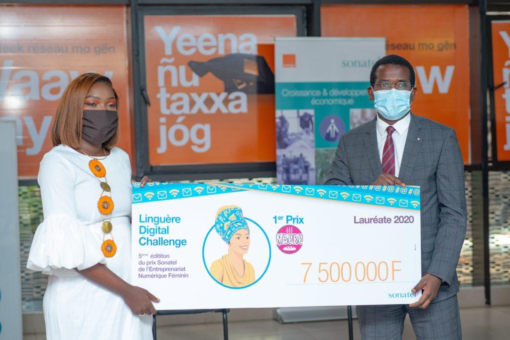 Deck Mburu remporte le concours du Linguère  Digital Challenge 2019