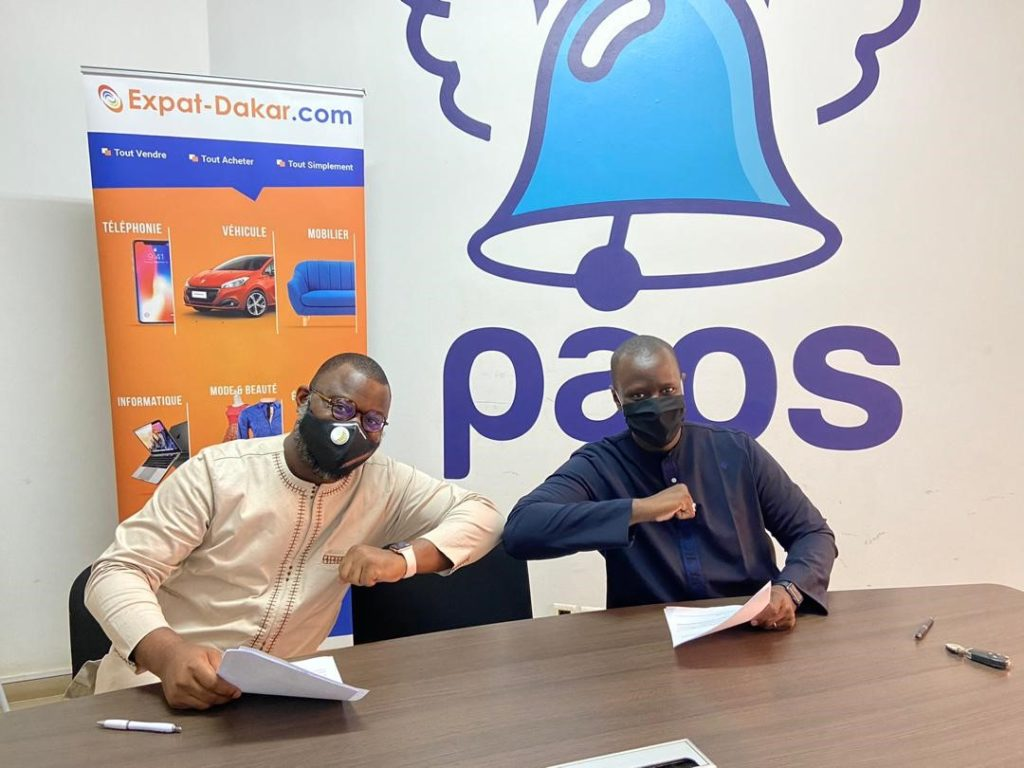 Paps et Expat-Dakar scellent un partenariat pour faciliter l'Achat et la Livraison en ligne