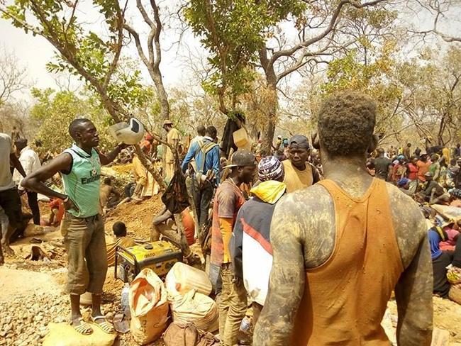 Kédougou: Les travailleurs des sites d'orpaillage dans la précarité