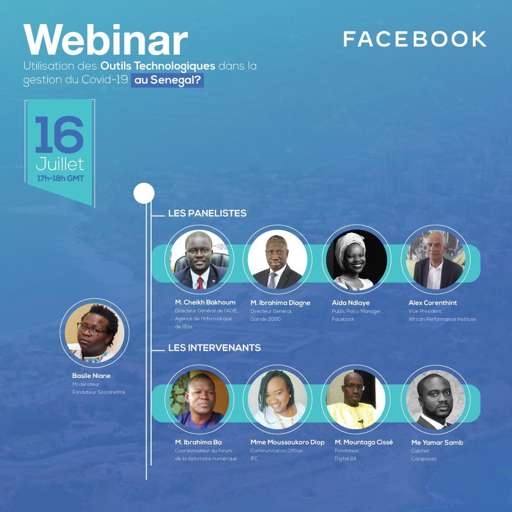 Covid-19/Usage des outils technologiques : Facebook fait l'état des lieux  au Sénégal