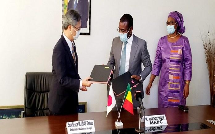 Covid-19 : le Sénégal bénéficie d'une assistance alimentaire de plus d'un milliard F CFA du Japon