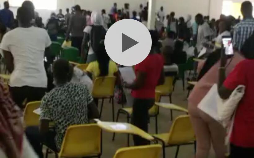 UCAD- Des étudiants boycottent une évaluation parce qu'ils trouvent les épreuves difficiles