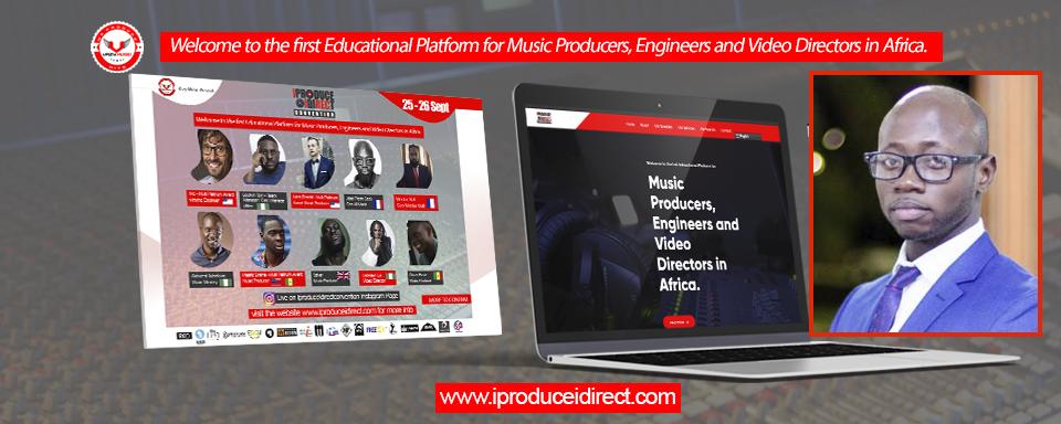 I Produce I Direct Convention :  première plateforme éducative dédiée aux beatmakers producteurs, compositeurs, ingénieurs de son en Afrique.