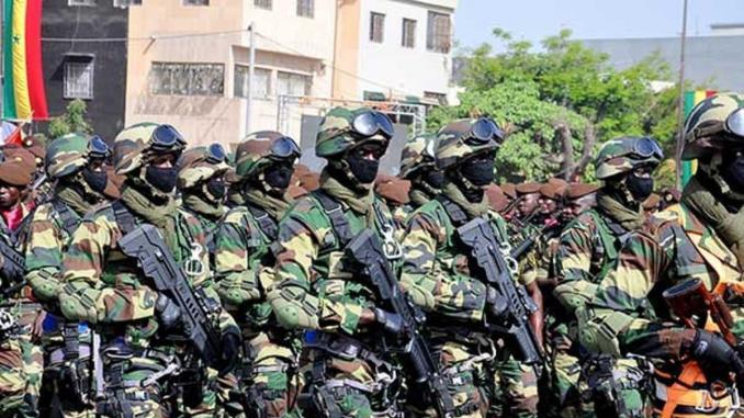 Vers l'inauguration d'une école de guerre au Sénégal