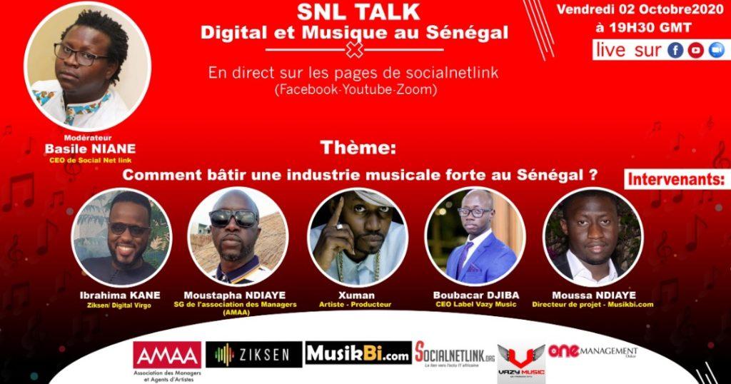 Digital et  Musique: Comment bâtir, une industrie culturelle forte au Sénégal.