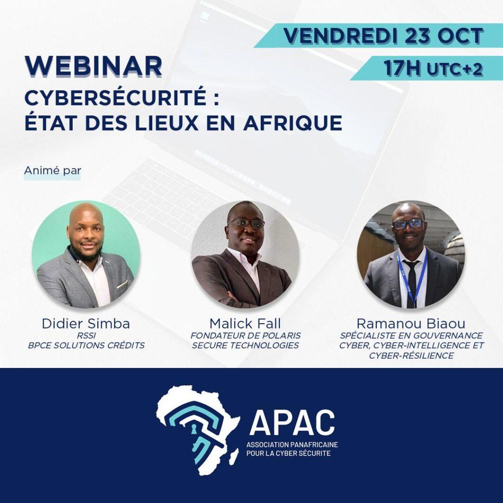 Cybersecurité: l'APAC pose le débat sur les enjeux et l'états des lieux en Afrique