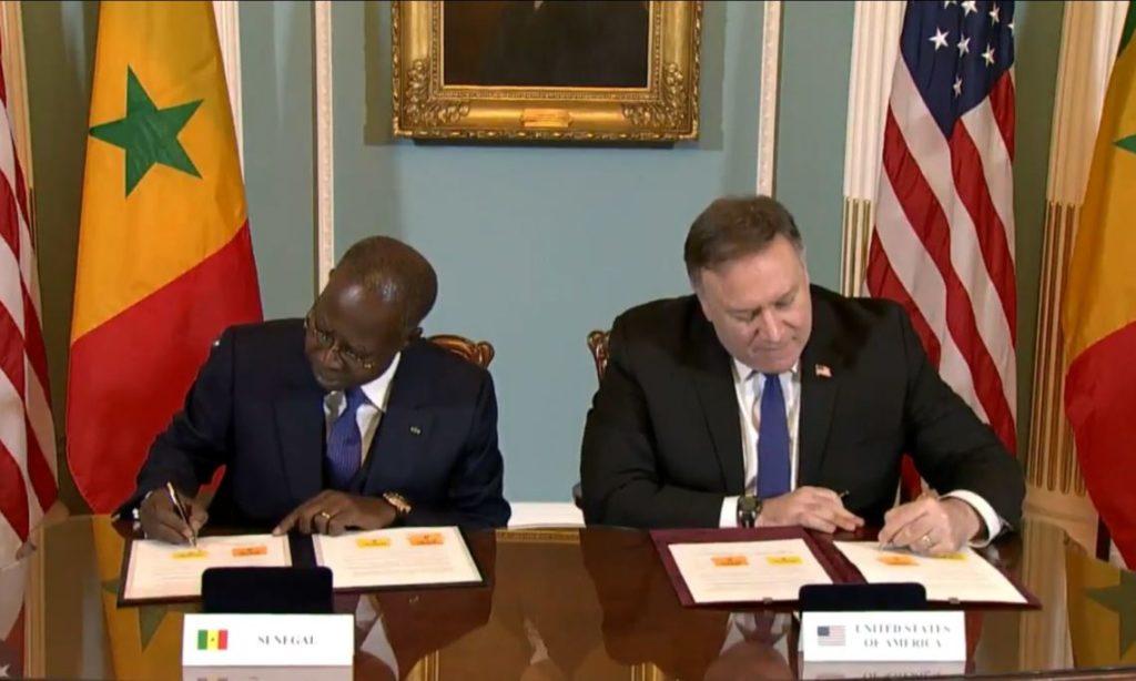 Coopération :  les Usa ont investi plus de 1 600 milliards de FCFA  au Sénégal au cours des 20 dernières années