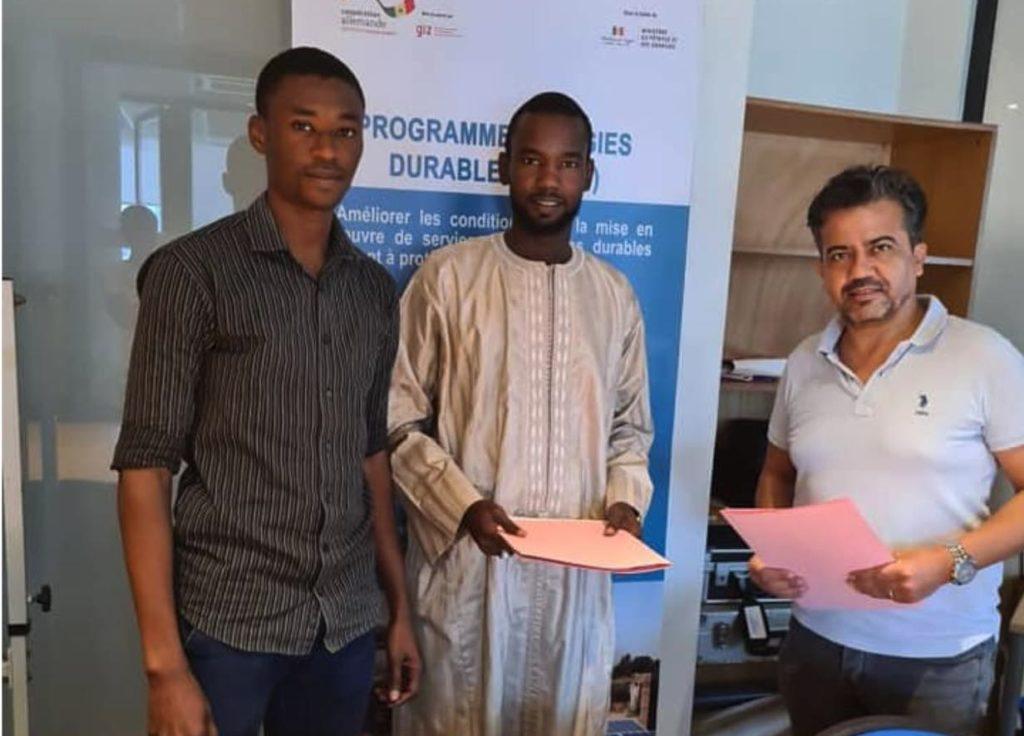 Concours sur les énergies durables  : Abdou Khadre  et Ablaye Diaby parmi les lauréats