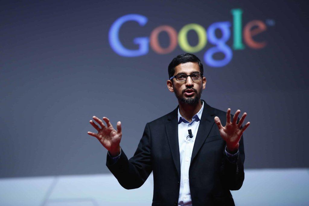 Document fuité chez Google:  le PDG, Sundar Pichai,  s'excuse platement…