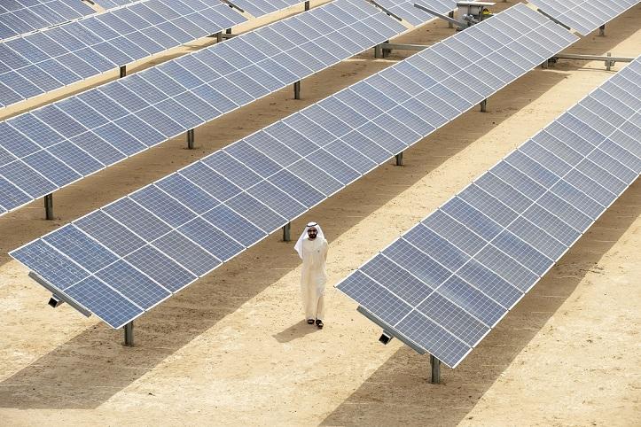 Centre d'innovation de DEWA, le plus grand parc solaire a site unique au monde