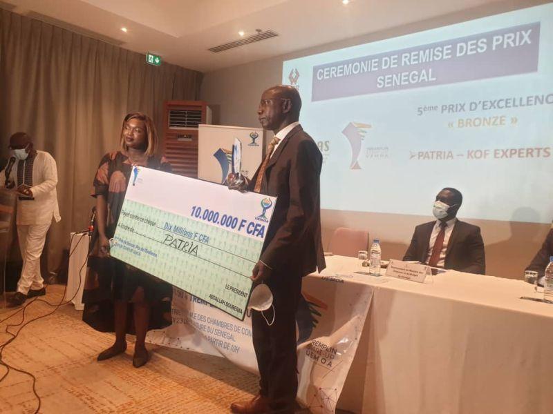Concours «Tremplin Start-Up» : la start-up Patria remporte le 1er prix