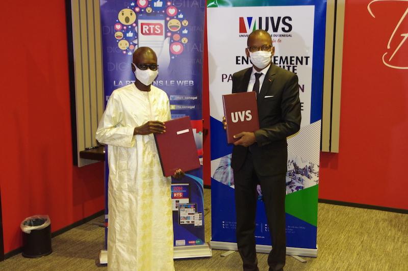 UVS et la RTS s'engagent pour une  transformation efficace des systèmes d'apprentissage