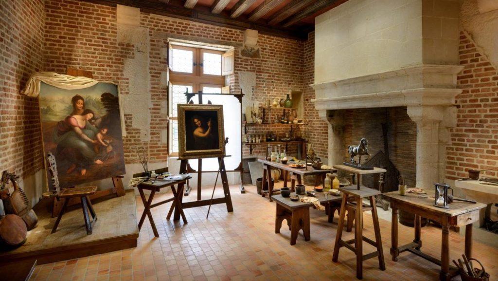 Exposition des 17 chefs d'œuvres du peintre italien Léonardo De Vinci