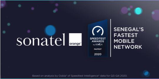 Orange, meilleur réseau mobile au Sénégal selon  Awards Speedtest de OOKLA
