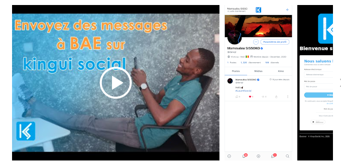 KinguiSocial, un réseau social made in Mali