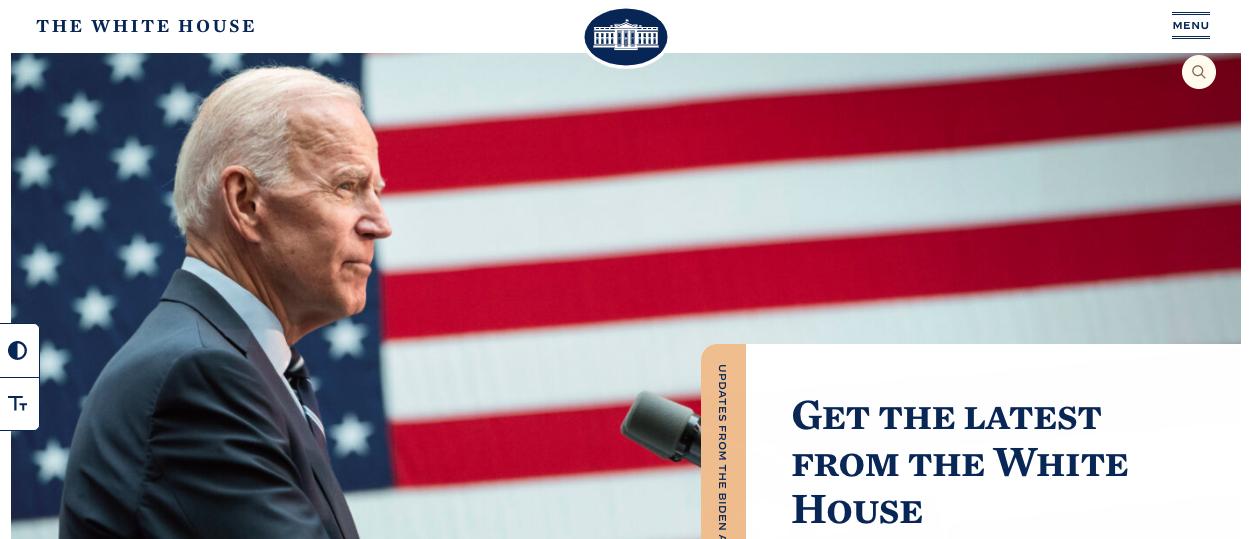 La Maison Blanche publie une offre d'emploi dissimulée dans le code HTML de son site