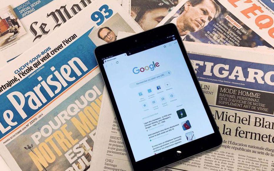 Google signe un accord pour rémunérer la presse française