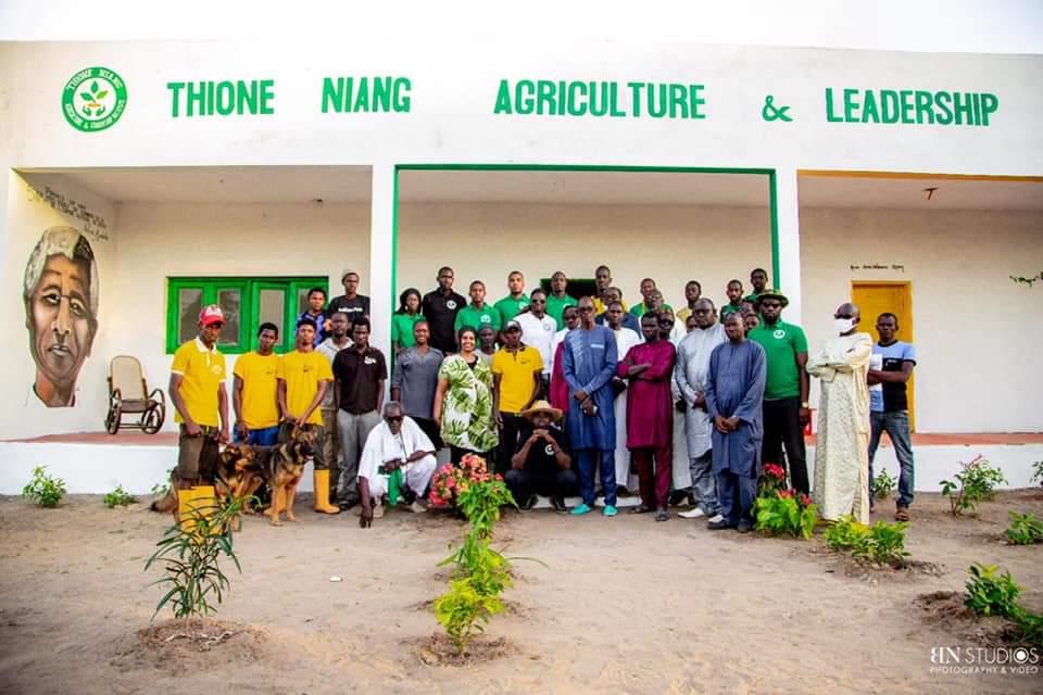 L'Entrepreneur Social Thione NIANG construit un Institut d'Agriculture et de Leadership pour les jeunes