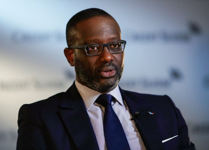 Tidjane Thiam va lancer un fonds d'investissement de 250 millions de dollars