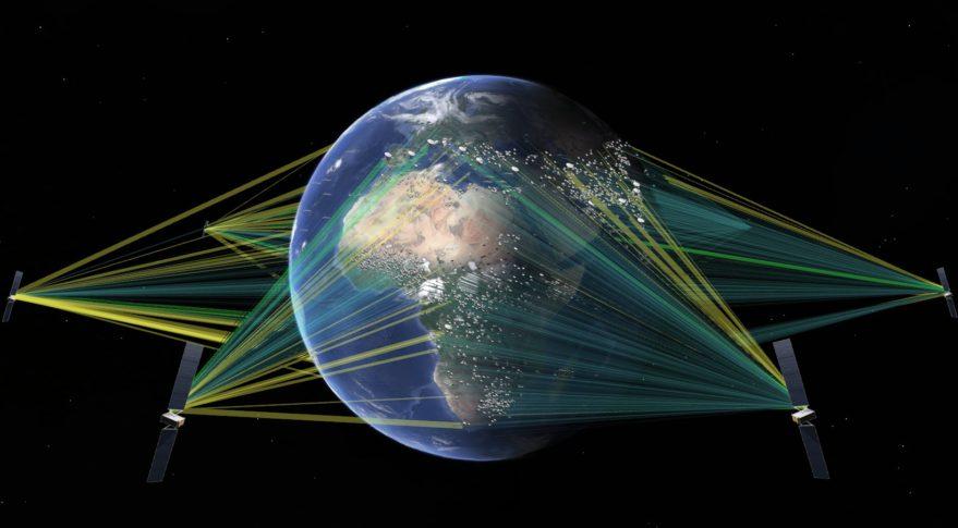 Connectivité par satellite :  SES Networks déploie son  système  «O3b mPOWER»  de très haut débit